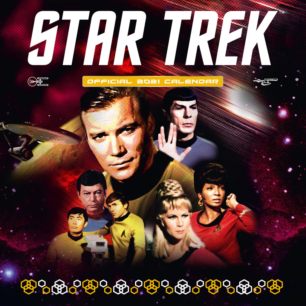 Star Trek 2021 TV Series Calendar Front Cover