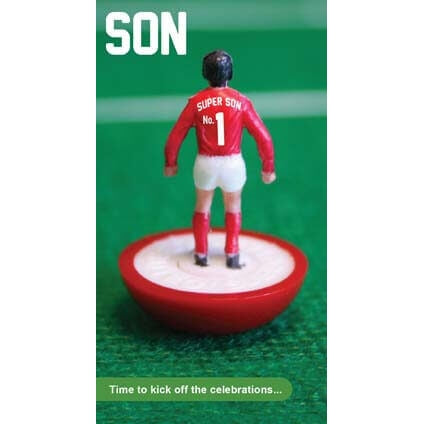 Subbuteo Son Birthday Card