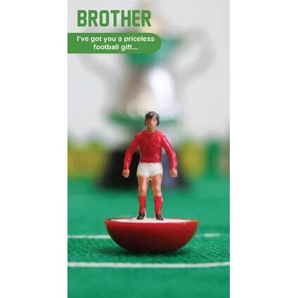 Subbuteo Brother Birthday Card