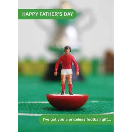 Subbuteo Happy Fathers Day Card