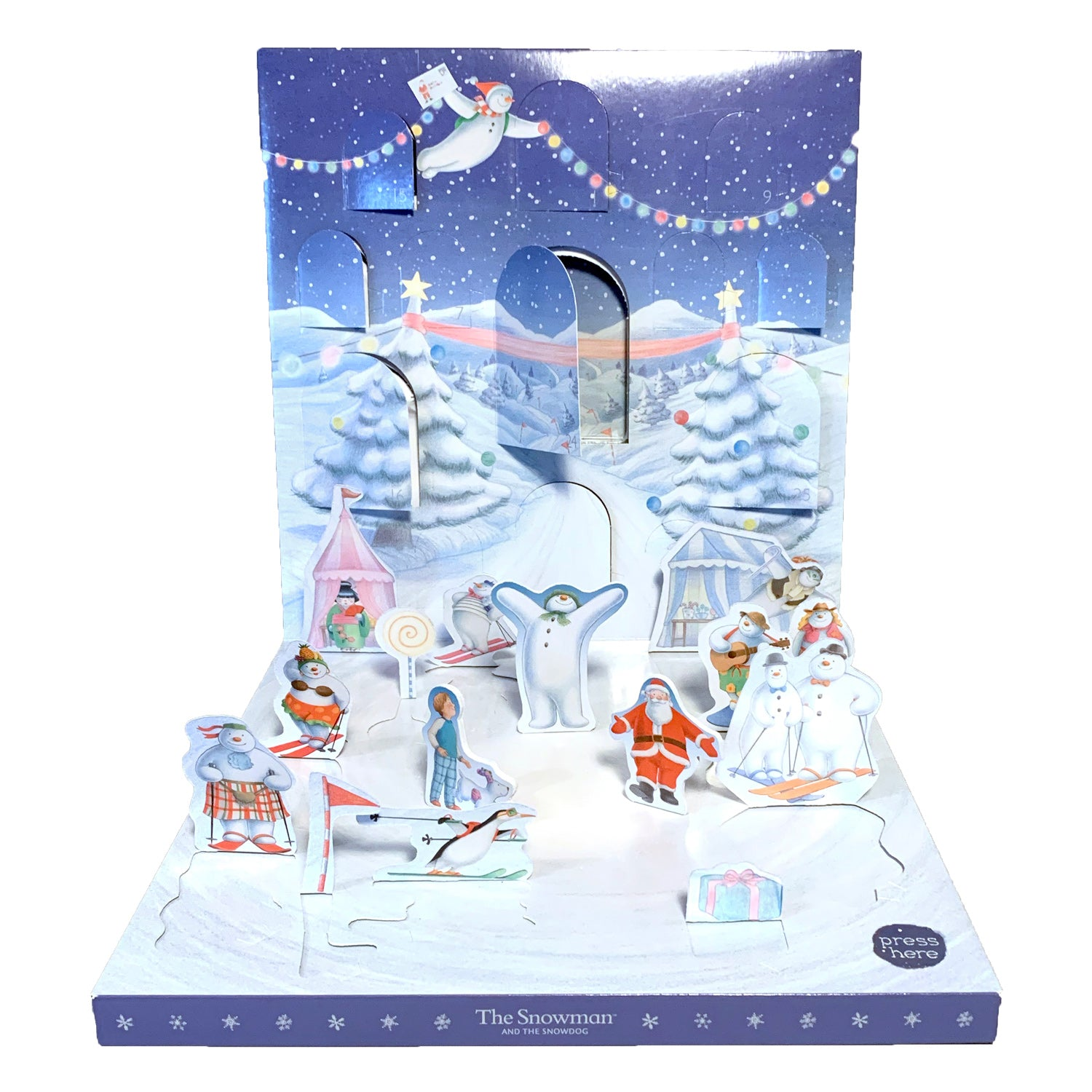 The Snowman Magnetic and Musical Christmas Advent Calender