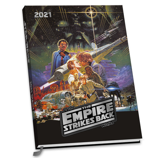 Star Wars 2021 A5 Diary Front