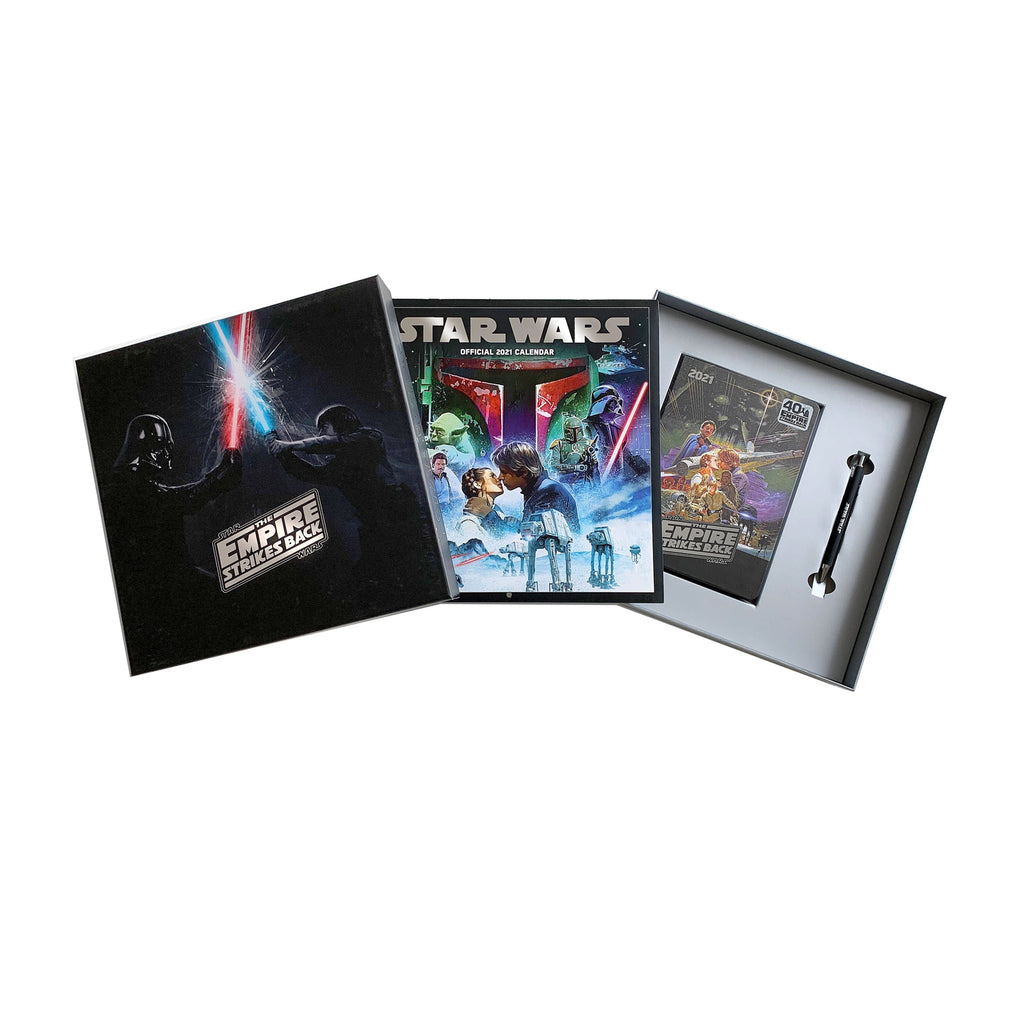 Star Wars Classic 2021 Calendar Gift Set Box