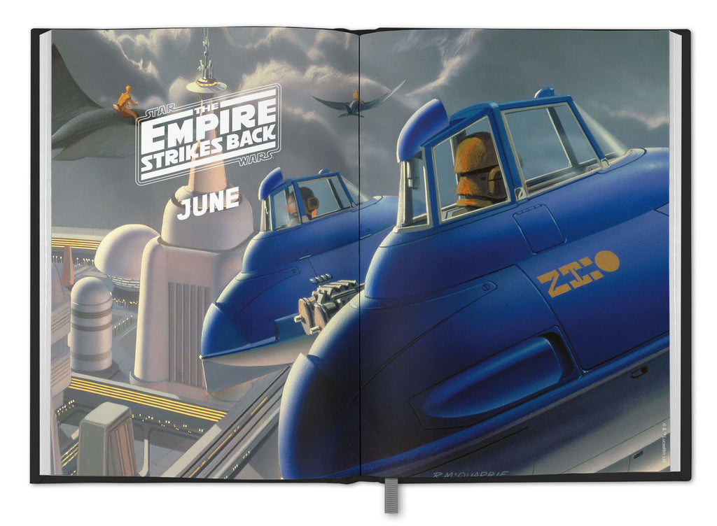 Star Wars Classic 2021 A5 Diary Inside Artwork