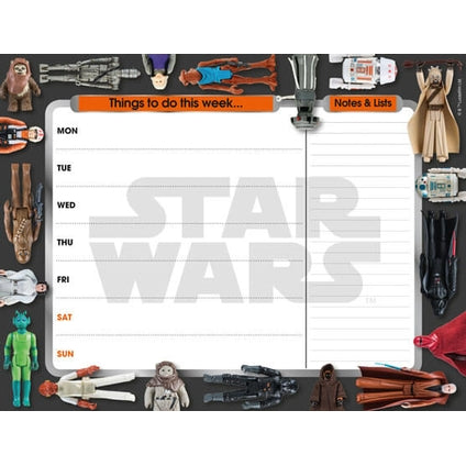Star Wars Classic Desk Pad Official Calendar