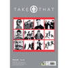 Take That Official 2021 A3 Wall Calendar Back