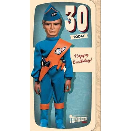 Thunderbirds Age 30 Birthday Card