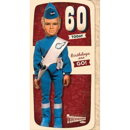 Thunderbirds Age 60 Birthday Card