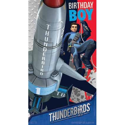 Thunderbirds Are Go Birthday Boy Card
