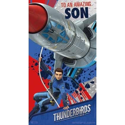 Thunderbirds Are Go Son Birthday Card