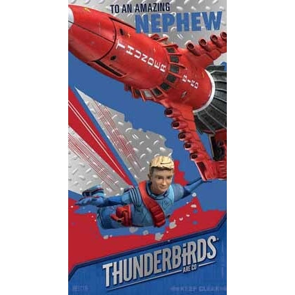 Thunderbirds Are Go Nephew Birthday Card