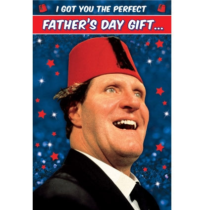 Tommy Cooper Father's Day Card