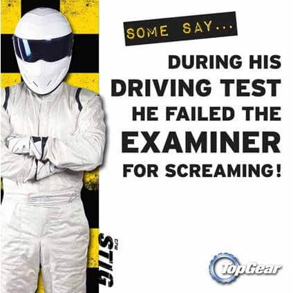 Top Gear Blank Card