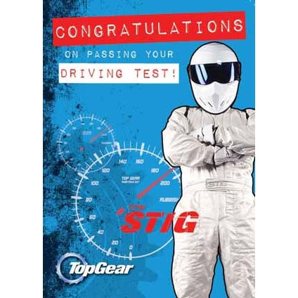 Top Gear Congratulations On Passing Your Driving Test Card