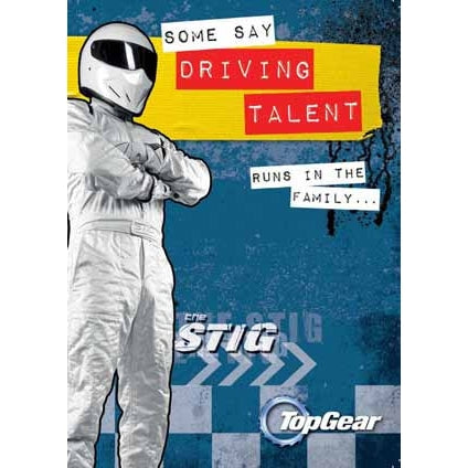 Top Gear General Birthday Card