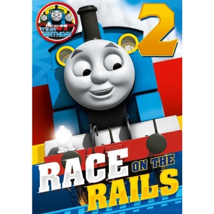 Thomas and Friends 2-Year-Old Birthday Card & Badge