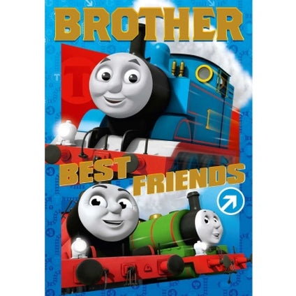 Thomas and Friends Brother Birthday Card