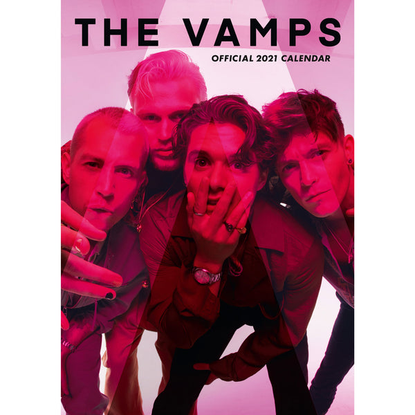 The Vamps 2021 Calendar Cover