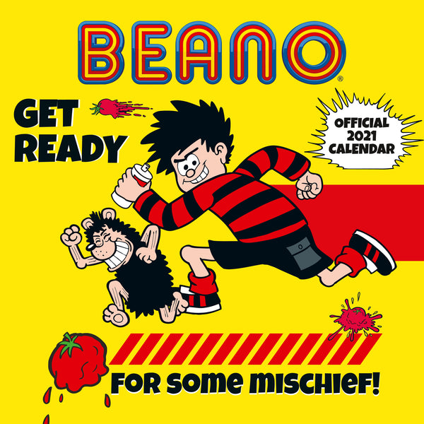 The Beano (Classic) 2021 Calendar Front