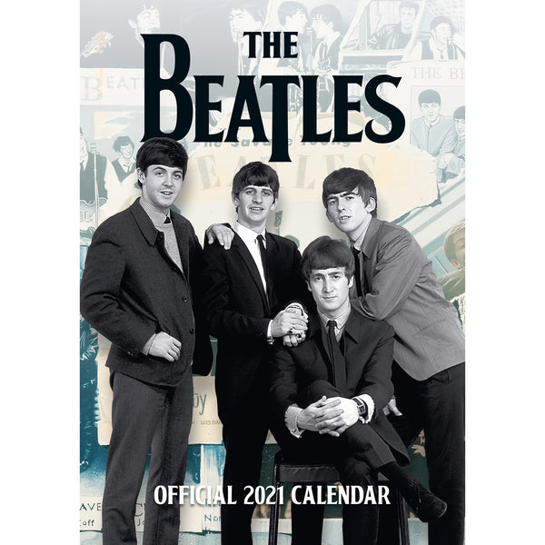 The Beatles 2021 A3 Wall Calendar Front