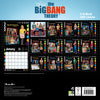 Big Bang Theory Official 2021 Square Wall Calendar BACK