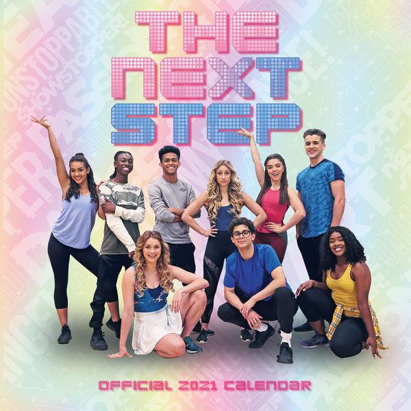 The Next Step Official 2021 Square Wall Front
