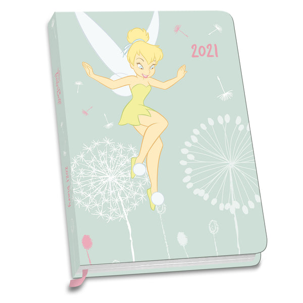 Disney Tinkerbell 2021 A6 Diary Front