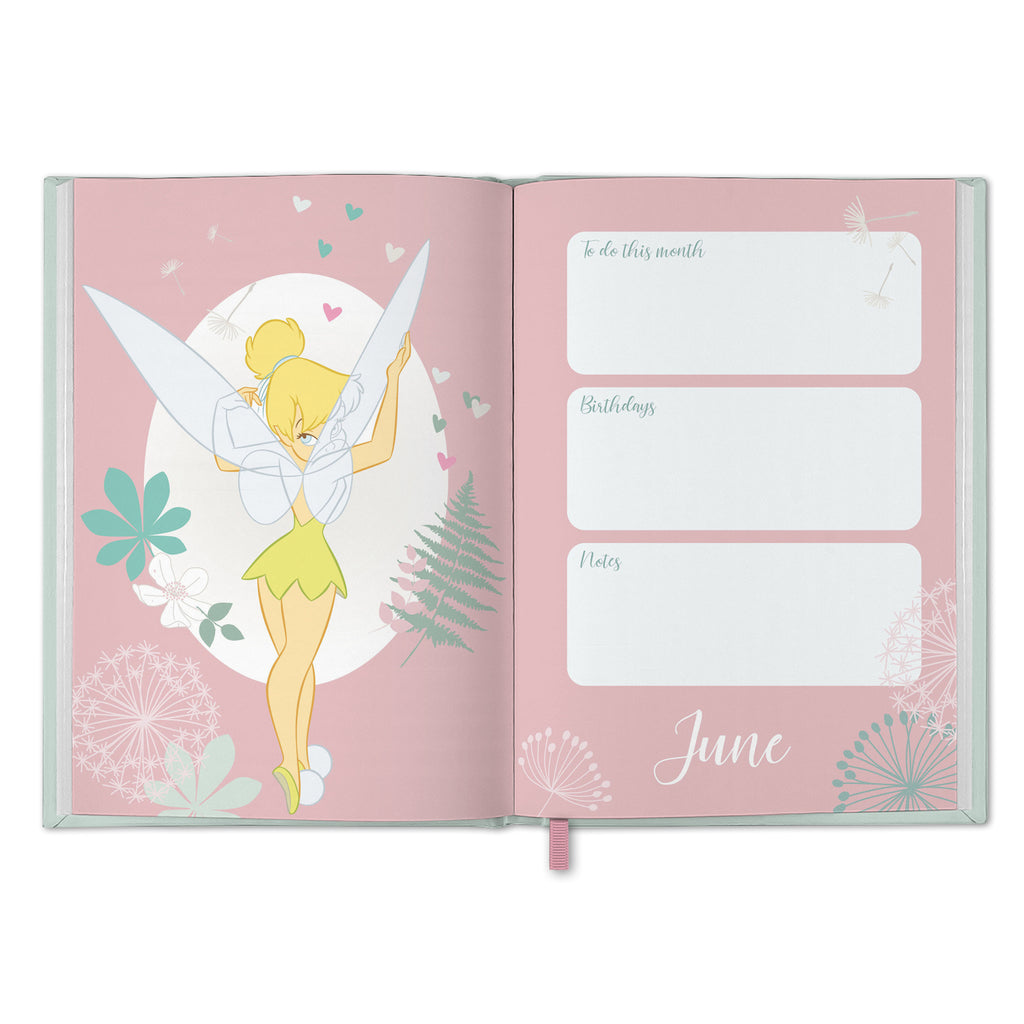 Disney Tinkerbell 2021 A6 Diary Inside2