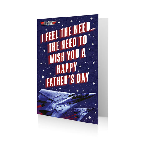 Top Gun Father's Day Card
