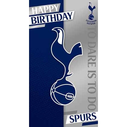 Tottenham Crest Birthday Card