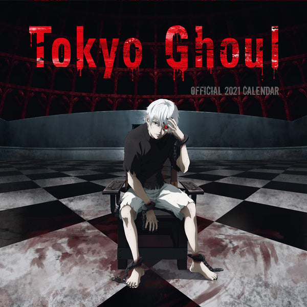 Tokyo Ghoul Official 2021 Square Wall Calendar Front