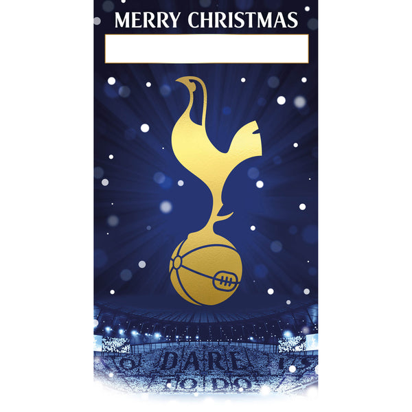 Tottenham Hotspur Any Name Christmas Card Front