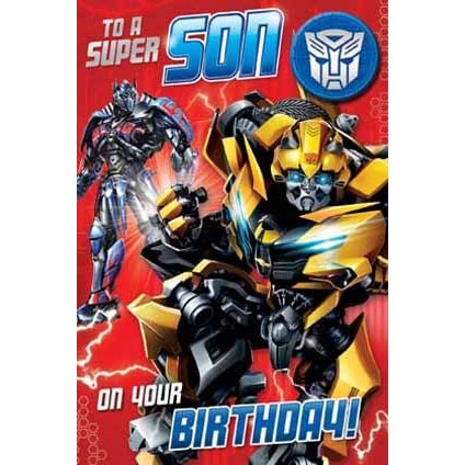 Transformers The Last Knight Son Badged Card