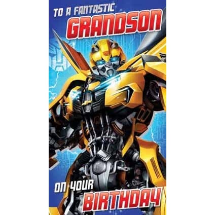 Transformers The Last Knight Grandson Card