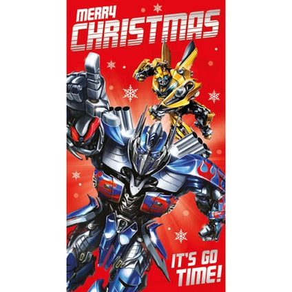 Transformers Christmas Card