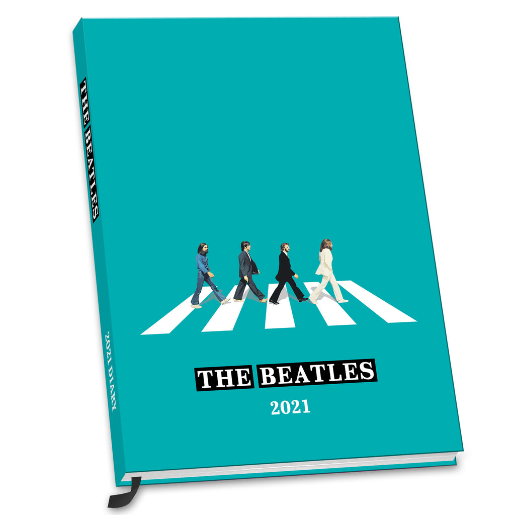 The Beatles 2021 A5 Diary Front 3D