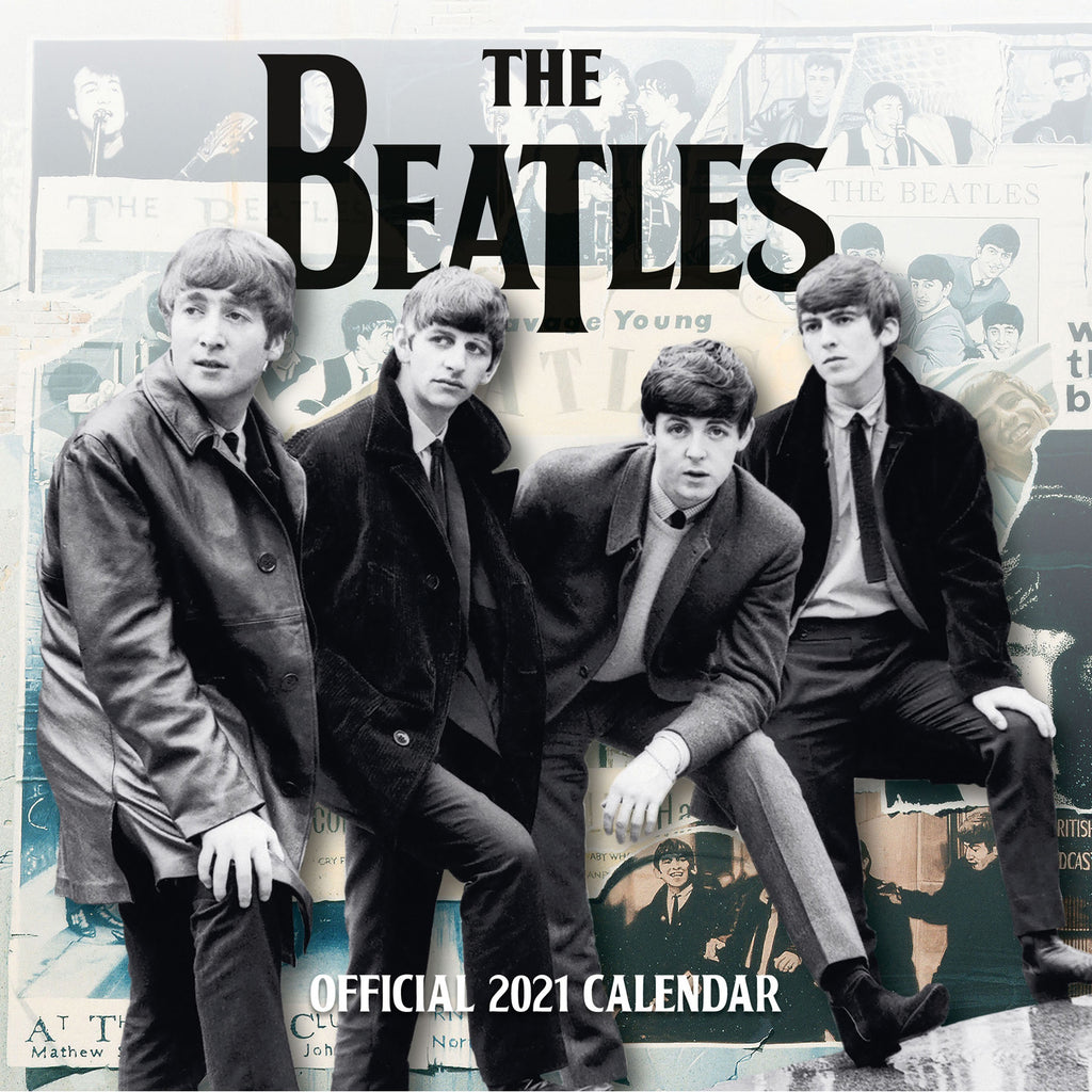 The Beatles Official 2021 Square Wall Calendar Inside