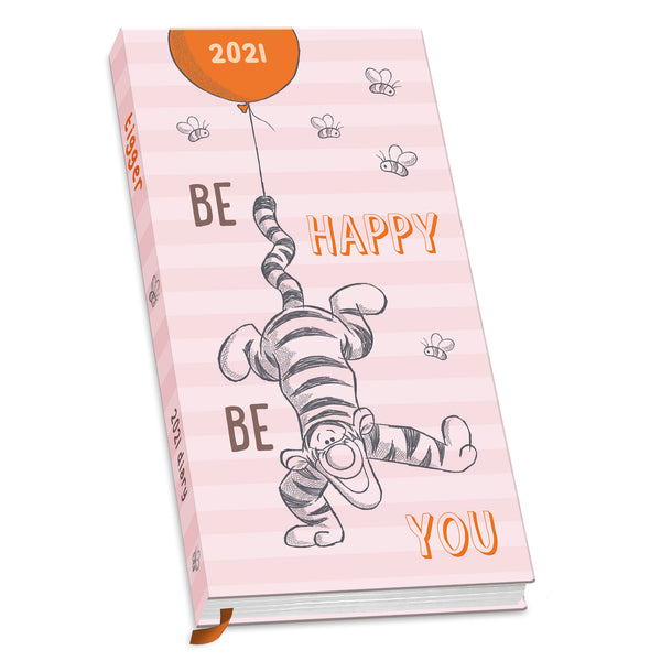 Tigger 2021 Slim Pocket Diary