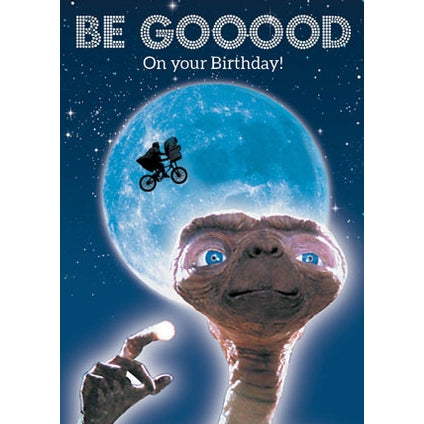 ET Retro Birthday Card