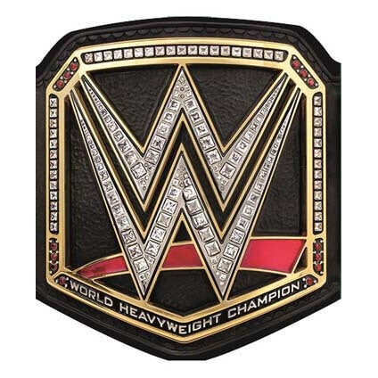 World Wrestling Belt Birthday Card