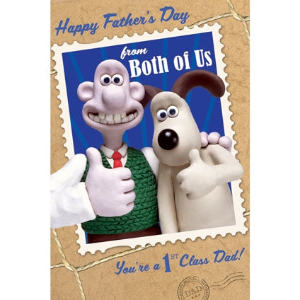 Wallace & Gromit Happy Father's Day Greeting Card
