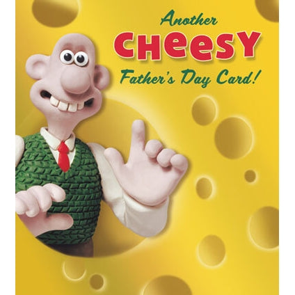 Wallace & Gromit Cheesy Fathers Day Card