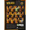Wolverhampton Wanderers Football Club 2021 A3 Wall Calendar Back