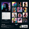 Wonder Woman Movie Official 2021 Square Wall Calendar BACK