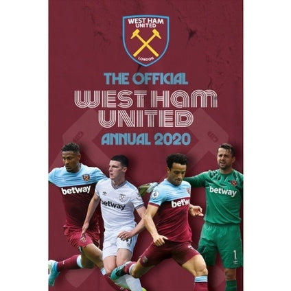 West Ham Football Club Official 2020 Hardback Annual