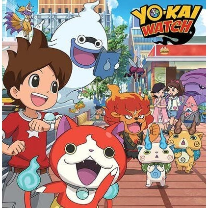 Yo-Kai Watch Blank Greeting Card
