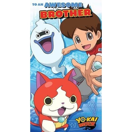 Yo-Kai Watch Brother Birthday Card