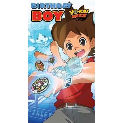 Yo-Kai Watch Boy Birthday Card