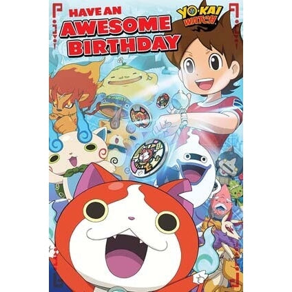 Yo-Kai Watch General Birthday Card