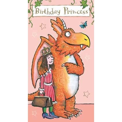Zog Birthday Princess Card